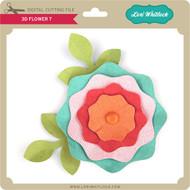 3D Flower 7