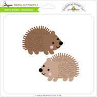 Simply Spring - Hedgehogs