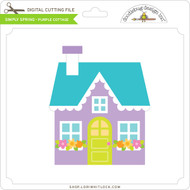 Simply Spring - Purple Cottage