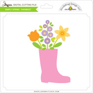 Simply Spring - Rainboot