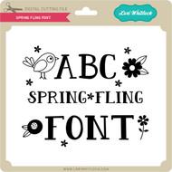 Spring Fling Font