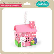 House Ornament Easter Bunny