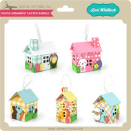 House Ornament Easter Bundle