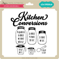 Kitchen Conversions 3