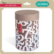 Tall Circle Box