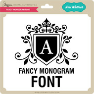 Fancy Monogram Font