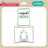 Pop Out Card Graduation