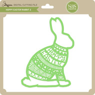 Hoppy Easter Rabbit 2