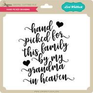 Hand Picked Grandma