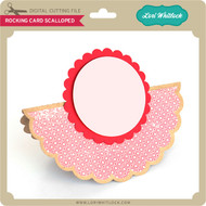 Rocking Card Scalloped
