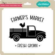 Farmer's Market Fresh Grown Truck