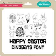 Happy Easter Dingbats