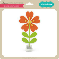 Shaped Card Flower 1