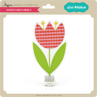 Shaped Card Flower 2
