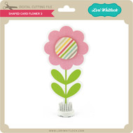Shaped Card Flower 3