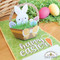 Bunny, Eggs, Carrot and Sentiment not included.
