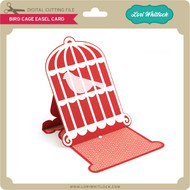 Bird Cage Easel Card