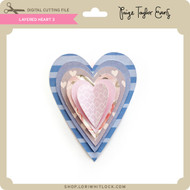 Layered Heart 3