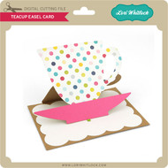 Teacup Easel Card