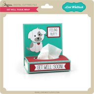 Get Well Tissue Wrap