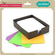 3x4 Project Life Storage Box