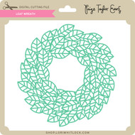 Leaf Wreath 5