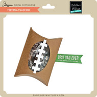 Football Pillow Box
