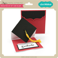 Graduation Hat Gift Card Holder