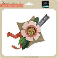 Scallop Flower Pillow Box