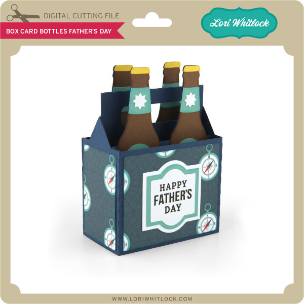 Free Box Card Bottles Fathers Day Lori Whitlock S Svg Shop SVG, PNG, EPS DXF File