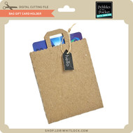 Bag Gift Card Holder