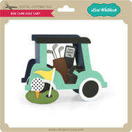Box Card Golf Cart