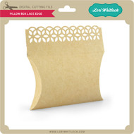 Pillow Box Lace Edge