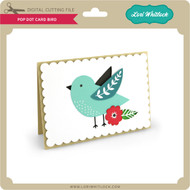 Pop Dot Card Bird