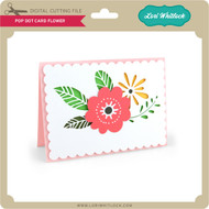 Pop Dot Card Flower