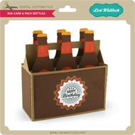 Box Card 6 Pack Bottles