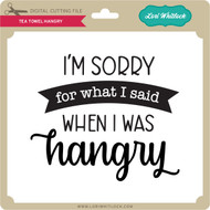 Tea Towel Hangry