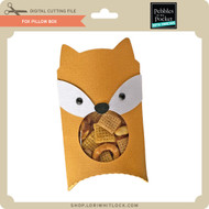 Fox Pillow Box
