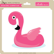 Splash Zone - Flamingo Float