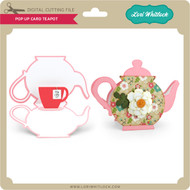 Pop Up Card Teapot