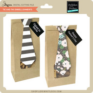 Tie and Tag Embellishments