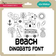 Beach Dingbats Font 2