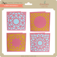 Flower Card Bundle 2