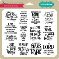 Faith Phrase Bundle 3