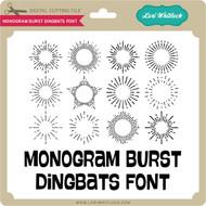 Monogram Burst Dingbats Font