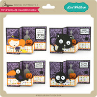 Pop Up Box Card Halloween Bundle
