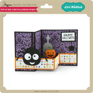 Pop Up Box Card Halloween Spider