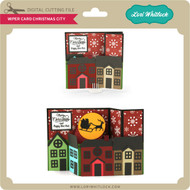 Wiper Card Christmas City