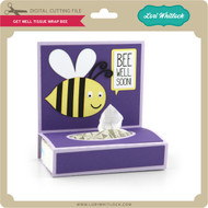 Get Well Tissue Wrap Bee