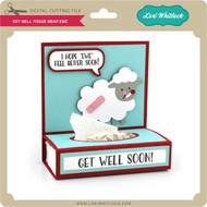 Get Well Tissue Wrap Ewe